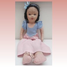 Wonderful Chad Valley Snow White Doll, Chad Valley Label