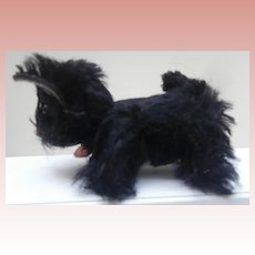 Schuco Miniature Black Scottie Dog