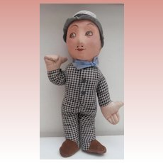 Vintage Deans Lupino Lane Cloth Doll