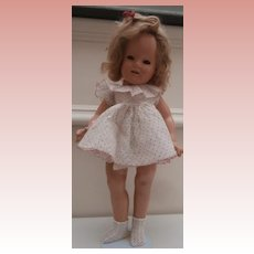 Poor Old Shirley Temple Composition Doll