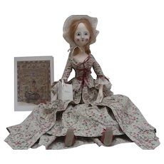Wonderful Queen Anne  Type Artist Doll ' Rebecca' by Janice May A/F