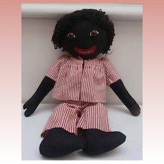 Vintage Golly, Golliwogg, Cloth Doll