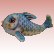 Steiff Flossy Fish , 1968 to 1978, Steiff Button