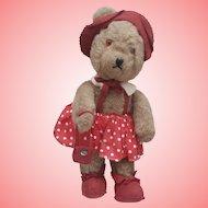 Edith, Sweet  Vintage Teddy Bear possibly Edith Moody