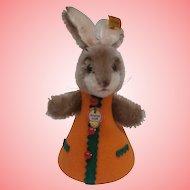 Steiff Rabbit Nightcap, 1968 to 1973, Steiff Button