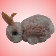 Steiff Woolen Bunny Rabbit, No Id's
