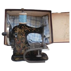 Early German Children's Sewing Machine