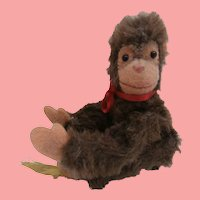 Sweet Steiff  Jocko Monkey, 1959 to 1964, Steiff Button