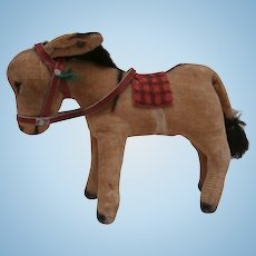 Steiff Donkey 1950 to 1951, Steiff Button
