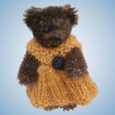 Coco,  Vintage Miniature Schuco Teddy Bear