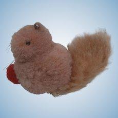 Steiff Woolen Miniature Squirrel, Steiff Button