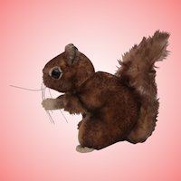 Steiff Perri Squirrel 1959 to 1964, Walt Disney Movie , Chest Tag