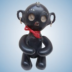 Winking Black Vinyl Doll 1960's
