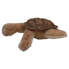 Steiff Slo Tortoise  / Turtle ,  1965 to 1967, Steiff Button A/F