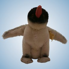 Steiff Peggy Penguin, Button