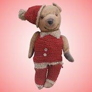 Smiler,  Well Loved Old  Teddy Bear