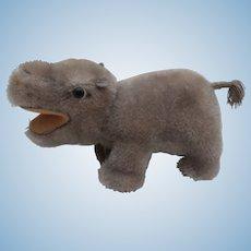 Steiff Mockie, Hippopotamus, Steiff Chest Tag
