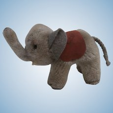 Smallest Steiff Elephant, Steiff Elephant Saddle. A/F