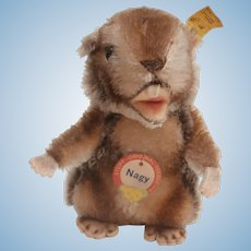 Lovely Steiff Nagy Beaver, All Id's 1959 to 1964