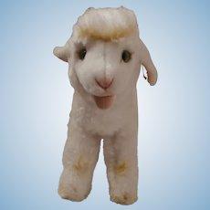 Steiff Cosy Lamby Lamb, Steiff Button 1968 to 1978