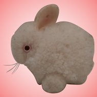 Sweet Steiff Wool Albino Bunny Rabbit, No Id's