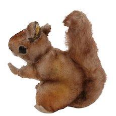 Steiff Perri Squirrel 1959 to 1964, Walt Disney Movie , Button