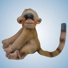 Steiff Mungo  Multicoloured Monkey with Button