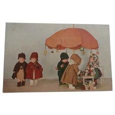 Wonderful Kathe Kruse Doll Postcard