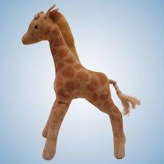 Vintage Steiff Giraffe, No Id's A/F