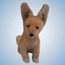 Steiff Xorry Desert Fox, Button