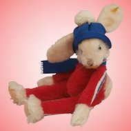 Steiff Rico Rabbit, Steiff Button