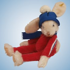 Steiff Rico Rabbit, Steiff Button