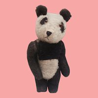 Harold .Vintage English Panda Teddy Bear