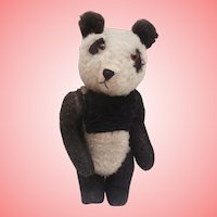 Harold .Vintage English Panda Teddy Bear