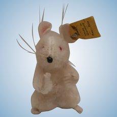 Sweet Steiff Pieps Mouse, Steiff Button