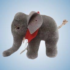Steiff Elephant, No  Id's, 1968 to 1972