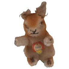 Steiff Possy Squirrel , Steiff Chest Tag