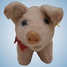 Steiff  Pig, Steiff Button
