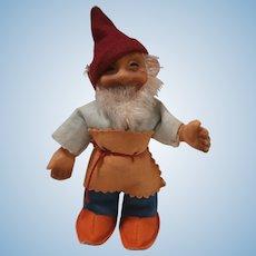 Steiff Gucki Dwarf Doll , No Id's. A/F