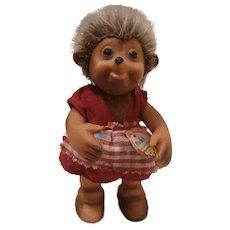 Steiff Mucki Hedgehog Doll, 1959 to 1967, All Id's