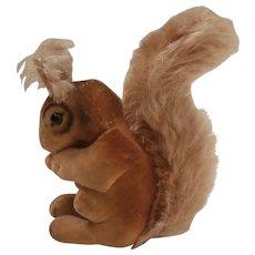 Steiff Squirrel, No Id's 1950 to 1956