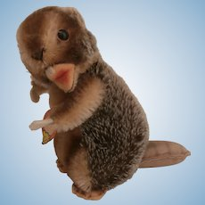 Steiff Nagy Beaver, Steiff Chest Tag