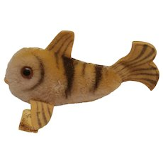 Steiff Flossy Fish , 1960 to 1964, Steiff Button