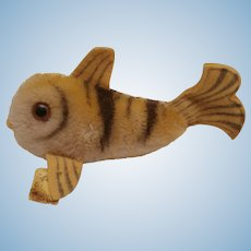 Steiff Flossy Fish , 1960 to 1964, Steiff Button