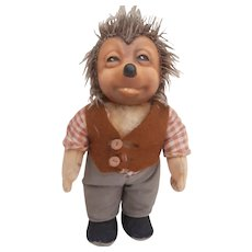 Steiff Mecki Hedgehog Doll, No Id's