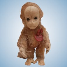 Gorgeous Schuco Tricky  Yes / No Orangutan Monkey with Label A/F