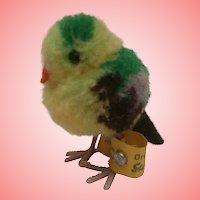 Steiff Wool Bird , Steiff Button