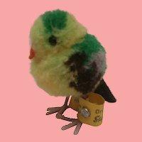 Steiff Woolen Pompom  Bird , Steiff Button
