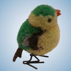 Steiff Wool Bird, No Id's