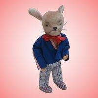 Vintage Bunny Rabbit by Kersa, No Id's